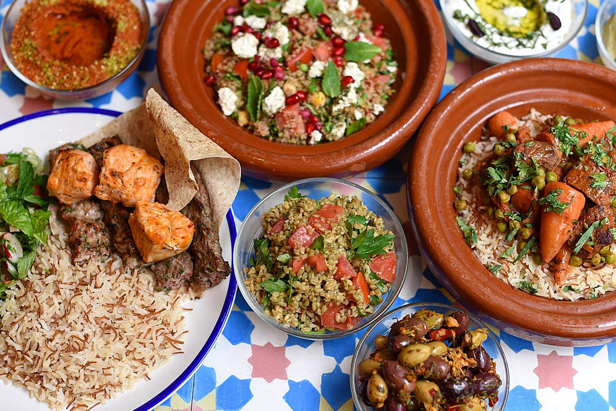 City Pantry - Healthy Lunches London - Comptoir Libanais