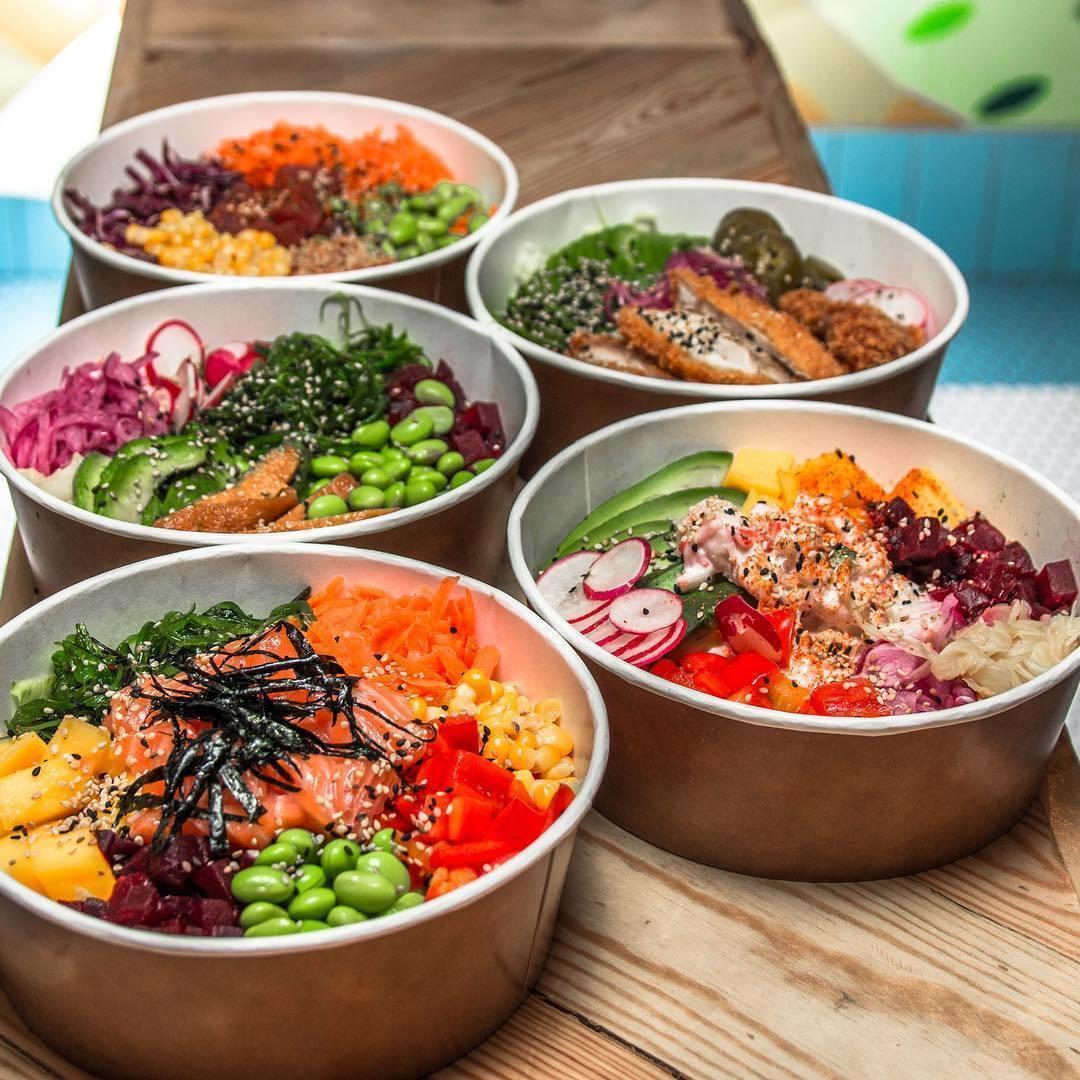 Poké bowls in London - Maki & Bowl