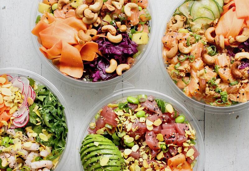City Pantry - Healthy London Lunches - Ahi Poke