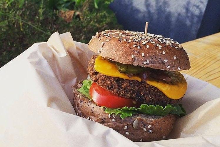 City Pantry - Mother London vegan burger