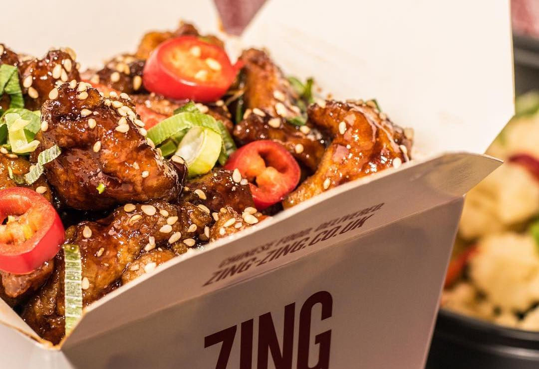 City Pantry - Zing Zing Chinese food in London
