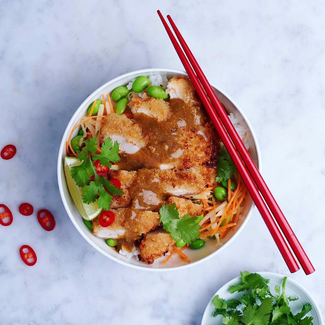 City Pantry - Abokado Lunch menu - Chicken Katsu Curry