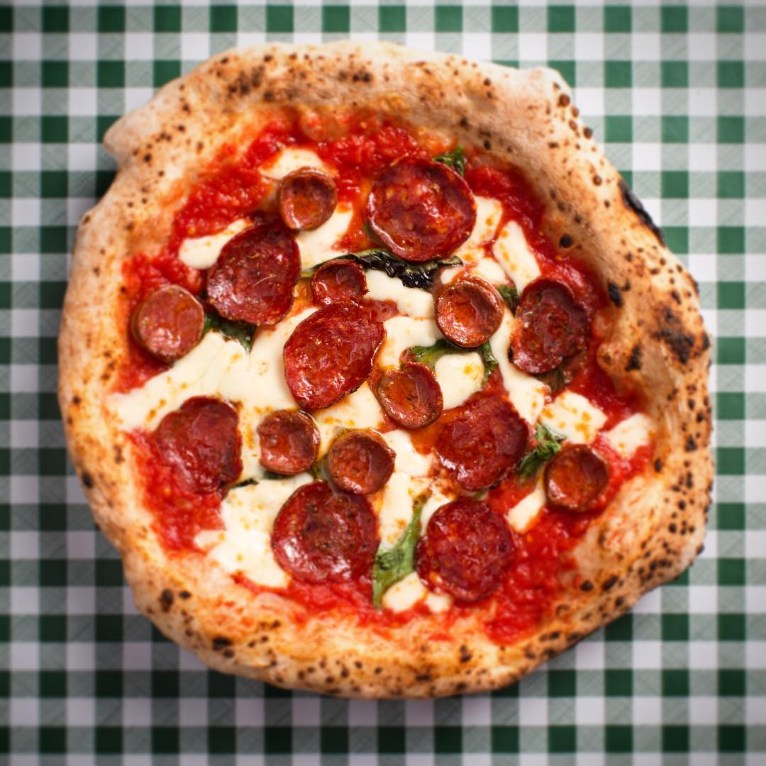 City Pantry - Double Pepperoni & Spicy Honey - Pizza Pilgrims