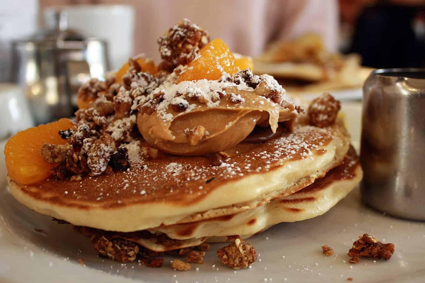 Moose-Coffee-Granola-Chocolate-Peanut-Butter-Pancakes-1460x973