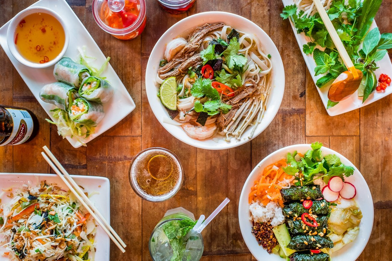 City Pantry - Healthy lunch Manchester - Pho