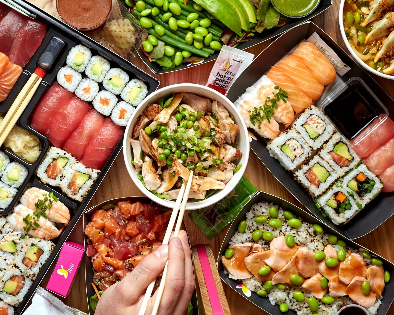 City Pantry - Lunch in Manchester - Itsu