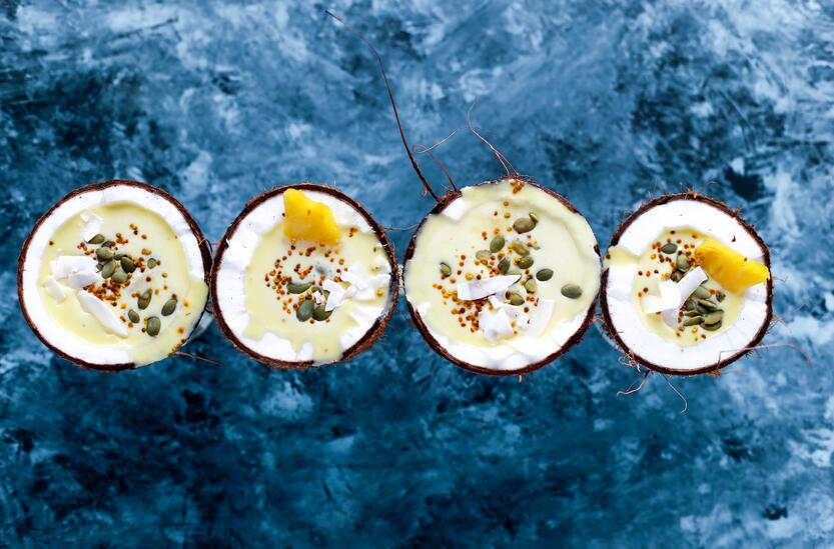 Pina Colada smoothie bowl