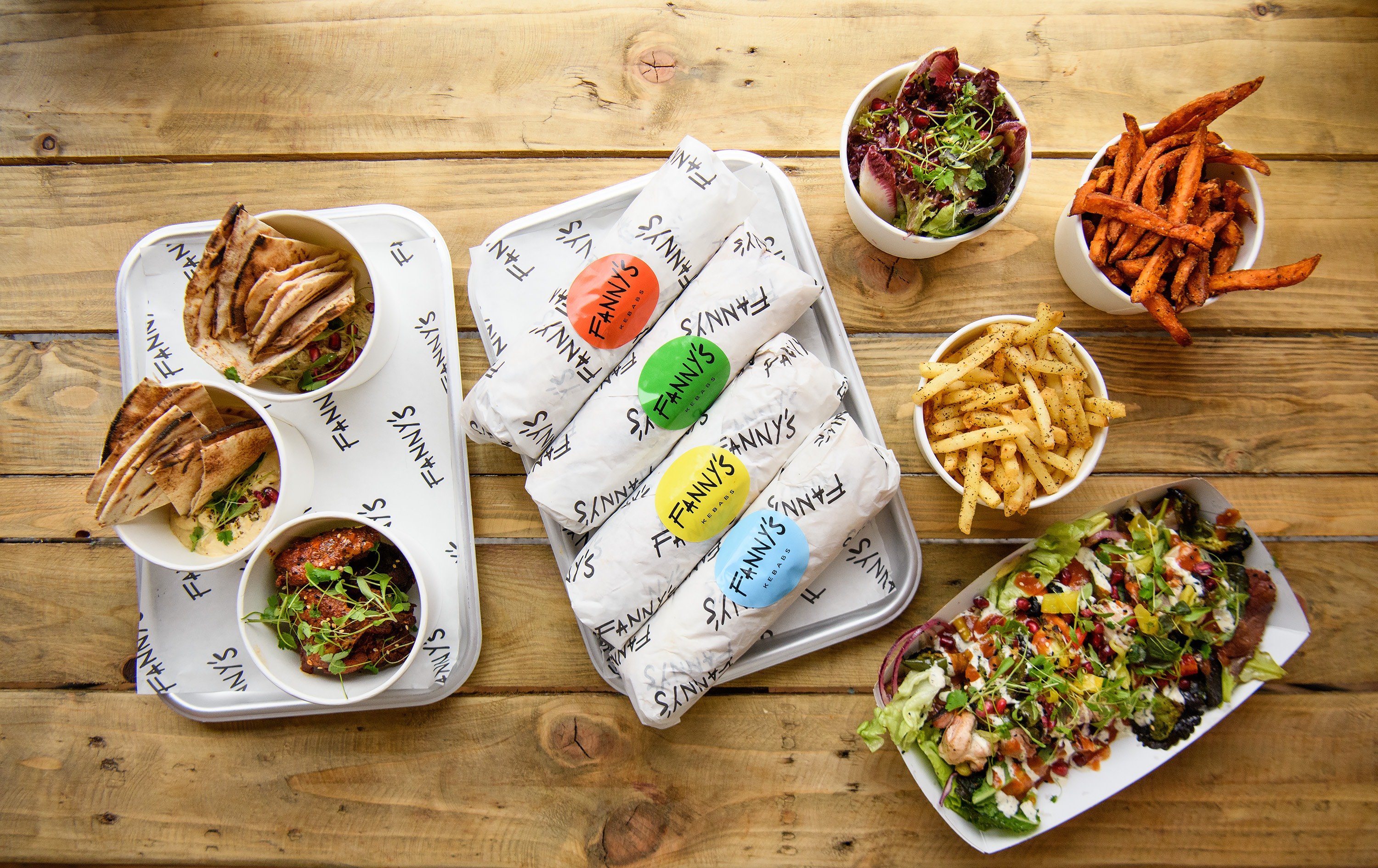 City Pantry - Lunch in Hackney - Fanny's Kebabs