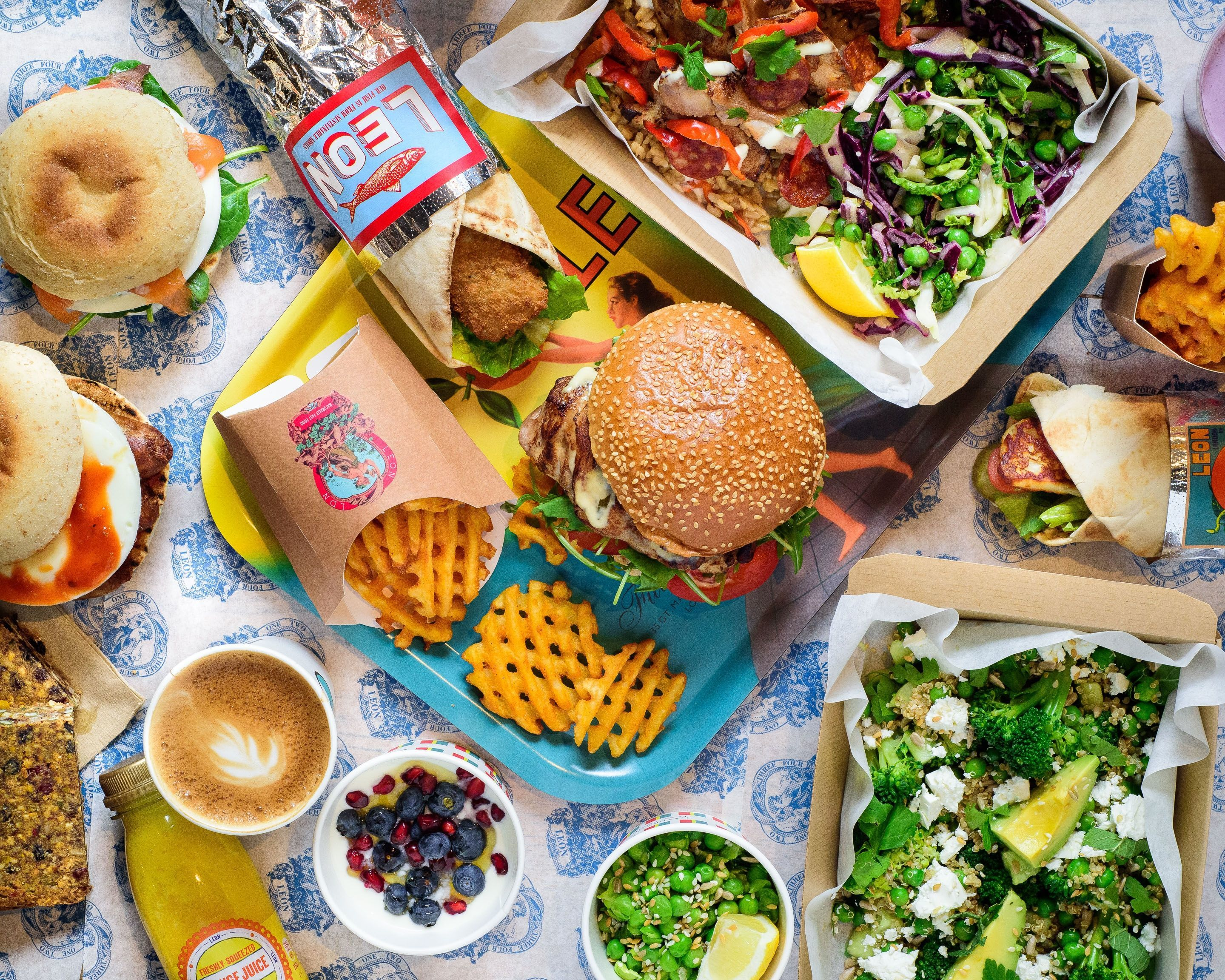 City Pantry - Lunch in King's Cross - Leon