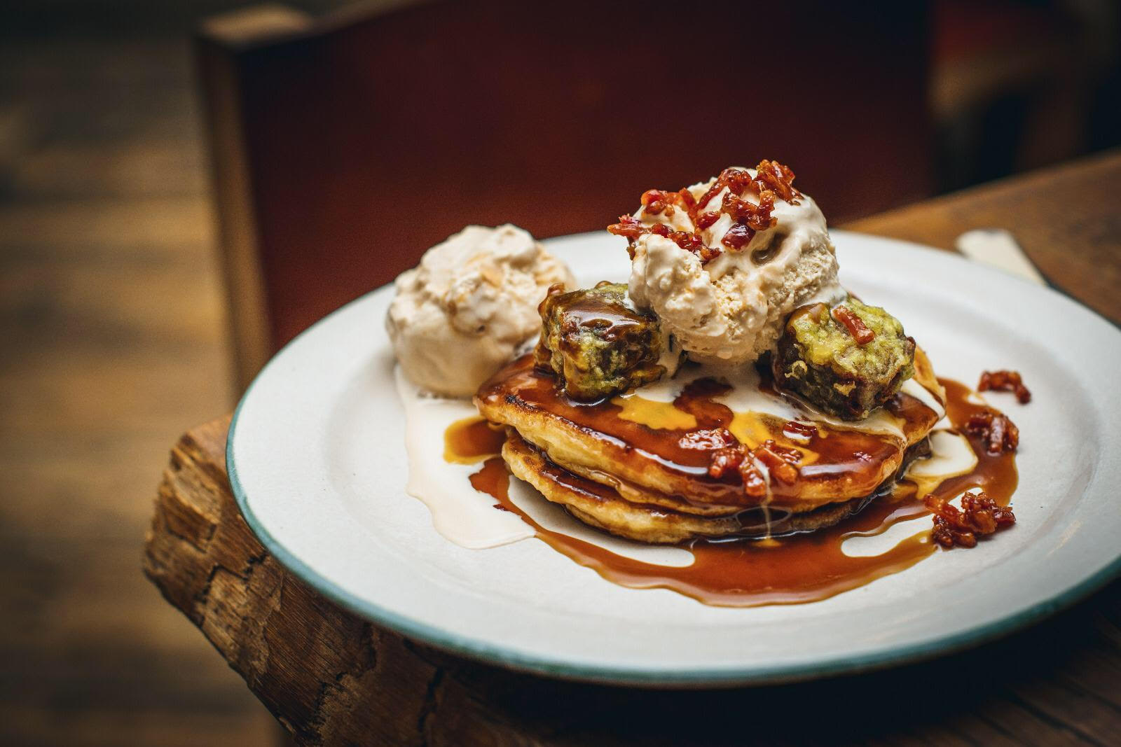 mac and wild pancakes