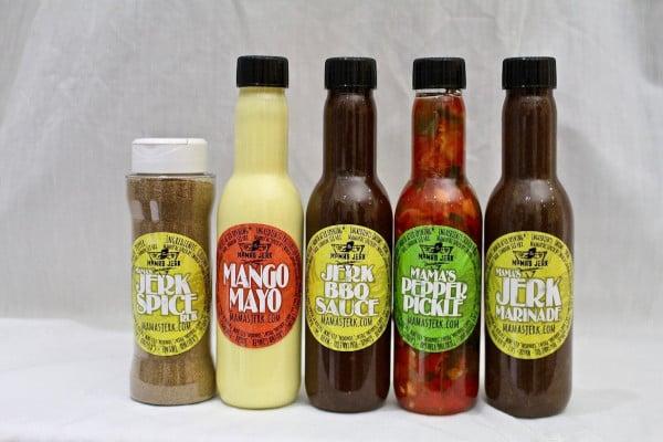 Mama's Jerk sauces