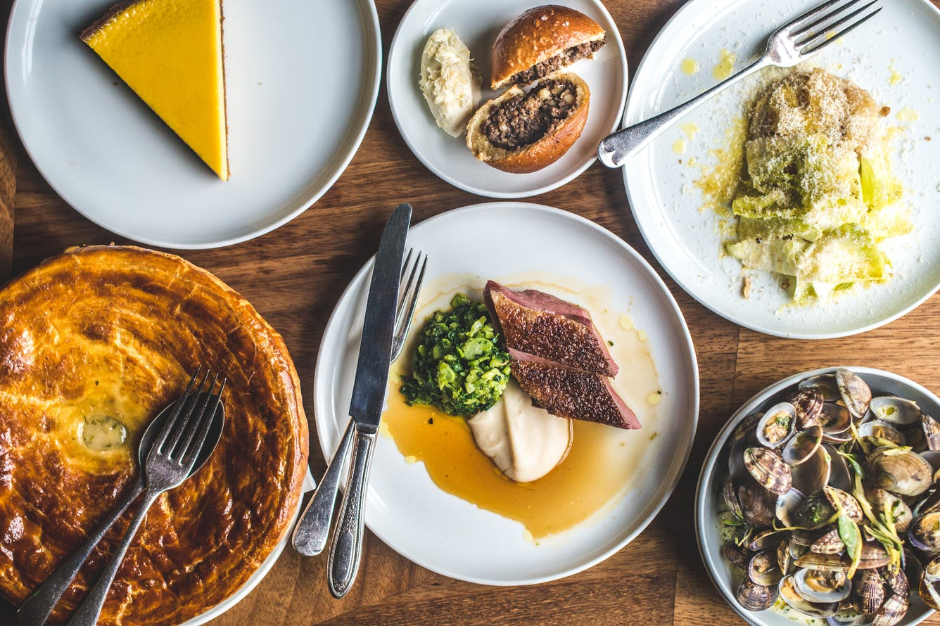City Pantry - Lunch in Hackney - Marksman