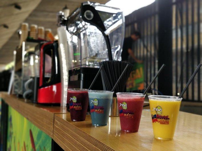 Juice guru pop up bar