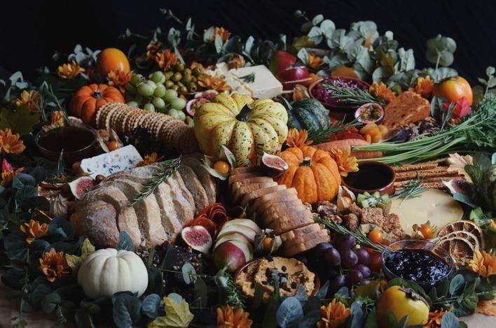 Platter Up Halloween Grazing Platter
