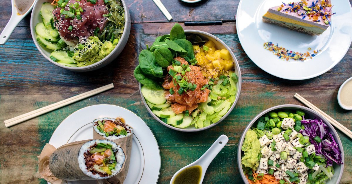 City Pantry - Healthy lunch Manchester - Oké Poké