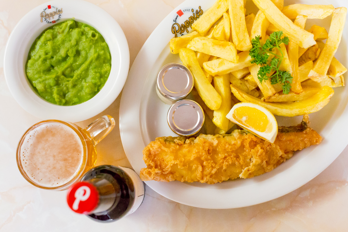 City Pantry - Lunch in Shoreditch - Poppies Fish & Chips
