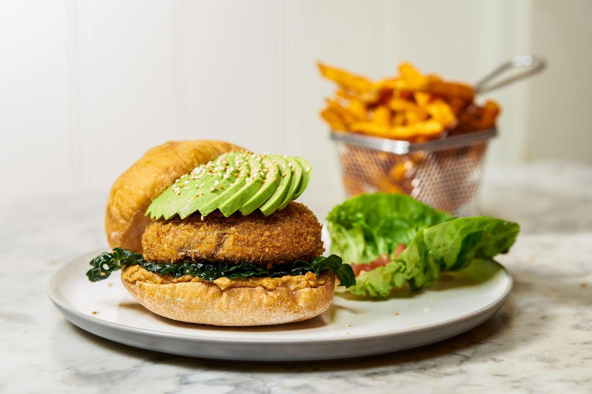 City Pantry - Hache London vegan burger
