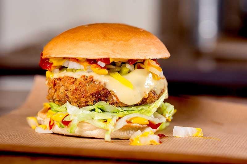 City Pantry - Patty & Bun burgers - The Whoopi Goldburger