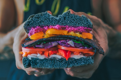Vegan burger - Veganuary marketing fad   City Pantry
