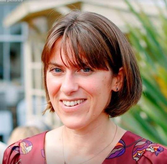 Photo of Sylvia smiling at the camera